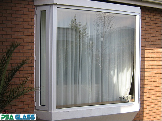 ventana de pvc bow window